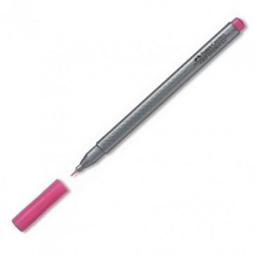 Liner, 0.4mm, roz, FABER CASTELL Grip