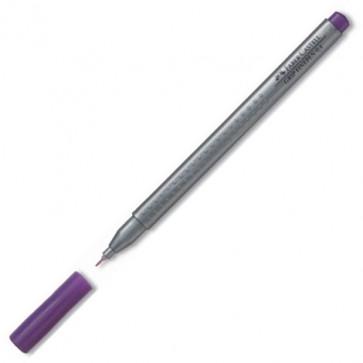 Liner, 0.4mm, violet, FABER CASTELL Grip