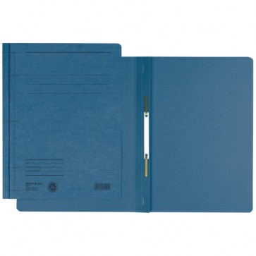 Dosar din carton, cu sina, 250 g/mp, albastru, LEITZ
