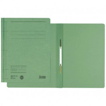 Dosar din carton, cu sina, 250 g/mp, verde, LEITZ