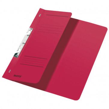 Dosar din carton, incopciat 1/2, 250 g/mp, rosu, LEITZ