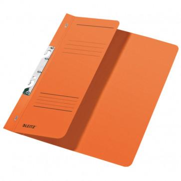 Dosar din carton, incopciat 1/2, 250 g/mp, portocaliu, LEITZ