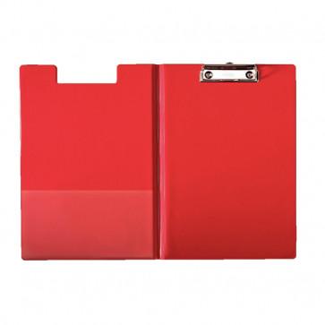 Clipboard A4, cu coperta, rosu, ESSELTE