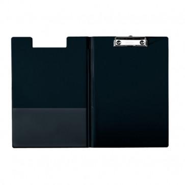 Clipboard A4, cu coperta, PP, negru, ESSELTE