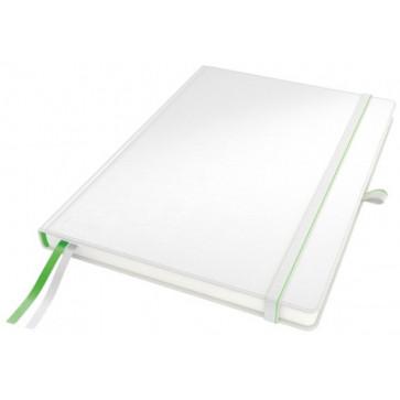 Caiet de birou, format iPad, matematica, alb, LEITZ Complete
