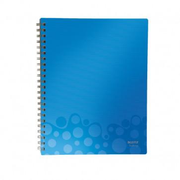 Caiet de birou, A4, dictando, albastru, LEITZ Bebop Get Organised