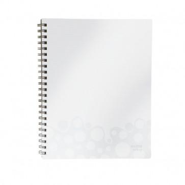 Caiet de birou, A4, matematica, alb, LEITZ Bebop Get Organised