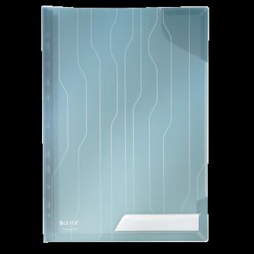 File din plastic, rigida, A4, transparent, 3 buc/set, LEITZ Combi