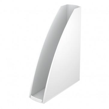 Suport vertical, alb metalizat, LEITZ Wow