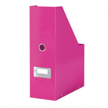 Suport vertical pt. documente, roz, LEITZ Click & Store