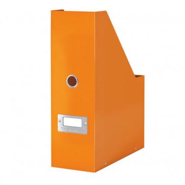 Suport vertical pt. documente, portocaliu, LEITZ Click & Store