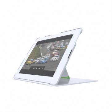 Carcasa, cu stativ si capac, iPad gen. 3/4, iPad 2, alb, LEITZ Complete