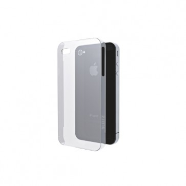 Carcasa, iPhone 4/4s, transparent, LEITZ Complete