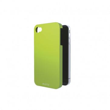 Carcasa, iPhone 4/4s, verde metalizat, LEITZ Complete WOW