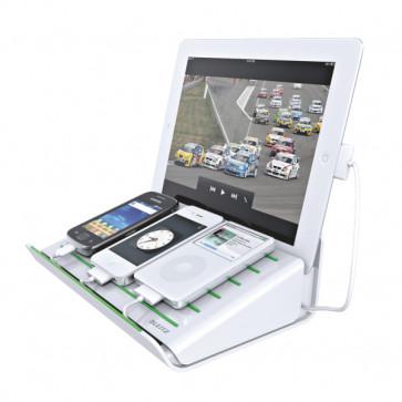 Incarcator multifunctional pentru echipamente mobile, alb, LEITZ Complete