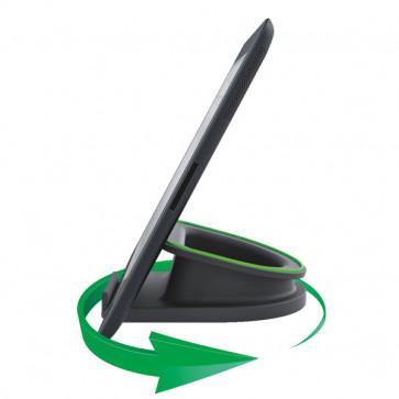 Suport rotativ pentru iPad/tableta PC, iPhone/smartphone, negru, LEITZ Complete
