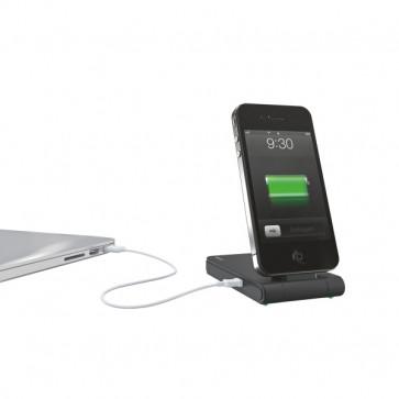 Incarcator 3 in 1 pentru iPhone 4/4S, negru, LEITZ Complete