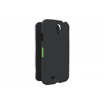 Carcasa, cu stativ, Samsung Galaxy S4 mini, negru, LEITZ Complete