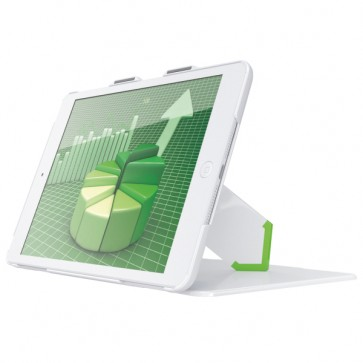 Carcasa, cu stativ si capac, iPad mini, cu retina display, alb, LEITZ Complete