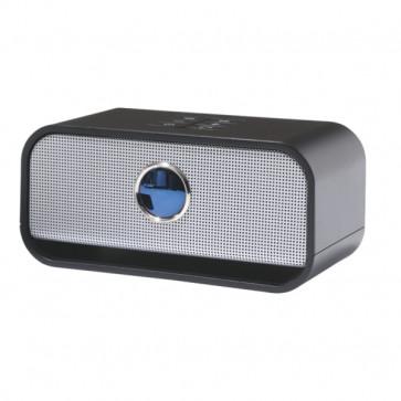 Difuzor stereo, portabil, cu bluetooth, negru, LEITZ Complete