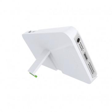 Carcasa, cu stativ, iPhone 5/5S, alb, LEITZ Complete