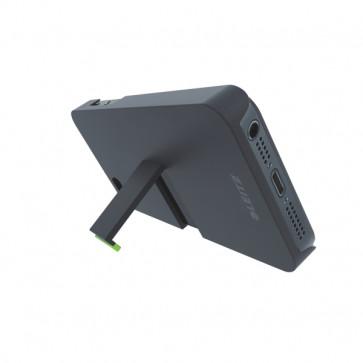Carcasa, cu stativ, iPhone 5/5S, negru, LEITZ Complete