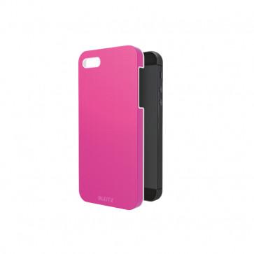 Carcasa, iPhone 5/5S, roz metalizat, LEITZ Complete WOW