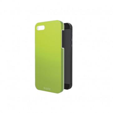 Carcasa, iPhone 5/5S, verde metalizat, LEITZ Complete WOW