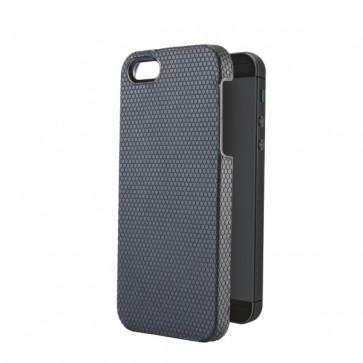Carcasa, iPhone 5/5S, negru, LEITZ Complete Tech Grip