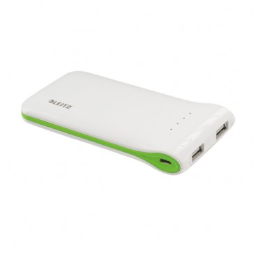 Baterie externa cu USB, alb, LEITZ Complete