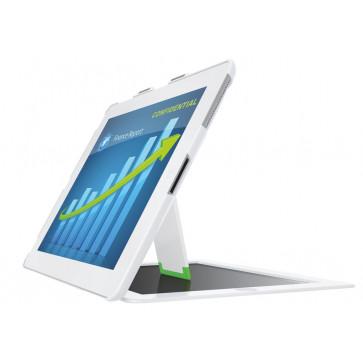 Carcasa, cu filtru de confidentialitate landscape, iPad gen. 3/4, iPad 2, alb, LEITZ Complete Privacy