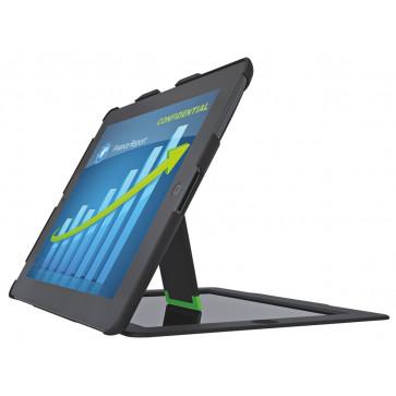 Carcasa, cu filtru de confidentialitate landscape, iPad gen. 3/4, iPad 2, negru, LEITZ Complete Privacy