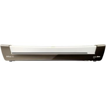 Laminator, A3, argintiu metalizat, Leitz iLAM Office