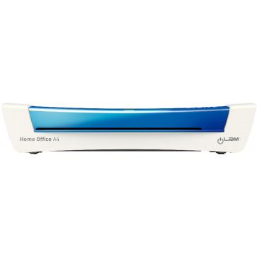 Laminator, A4, albastru metalizat, Leitz iLAM Home Office