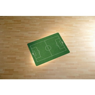 Protectie podea pentru suprafete dure, 90 x 120cm, verde, RS OFFICE Soccer Field