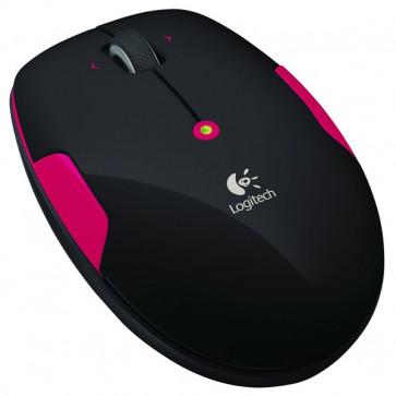 Mouse Wireless, 1000dpi, Fire Red, LOGITECH M345