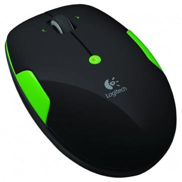 Mouse Wireless, 1000dpi, Lime Green, LOGITECH M345