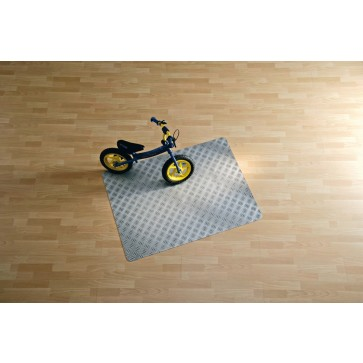 Protectie podea pentru suprafete dure, 90 x 120cm, gri, RS OFFICE Ribble Sheet