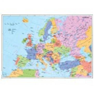Mapa de birou, 70 x 50cm, harta Europei Politice, STIEFEL