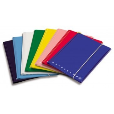 Mapa din carton plastifiat, A4, cu elastic, albastru, PIGNA Winner