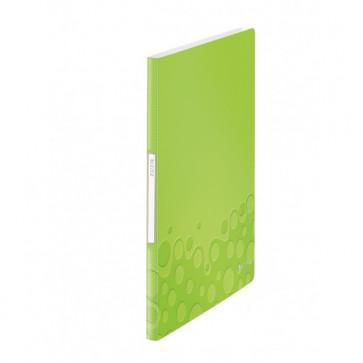 Mapa de prezentare, A4, 20 de folii de protectie, verde metalizat, LEITZ WOW