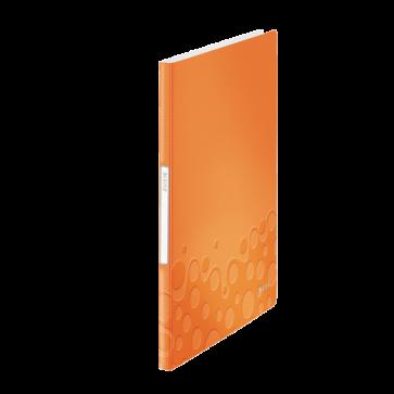 Mapa de prezentare, A4, 20 de folii, portocaliu metalizat, LEITZ WOW