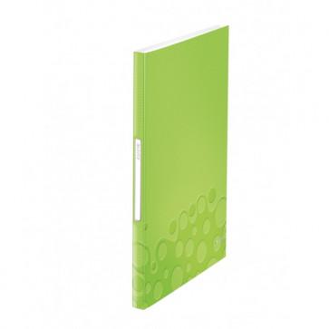 Mapa de prezentare, A4, 40 de folii de protectie, verde metalizat, LEITZ WOW