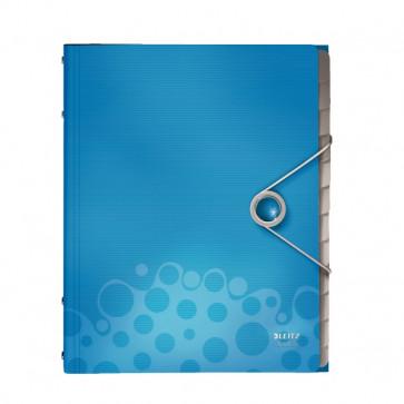 Mapa din plastic, cu 12 separatoare, albastru, LEITZ Bebop