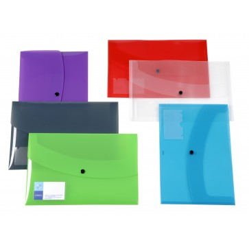 Servieta din plastic, diverse culori, tip plic, VIQUEL