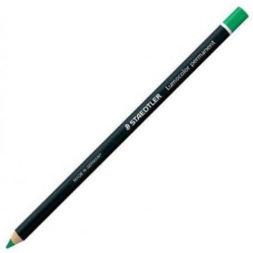 Marker uscat permanent, glasochrom, verde, STAEDTLER