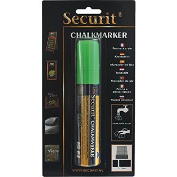 Marker cu creta, verde, SECURIT SMA720