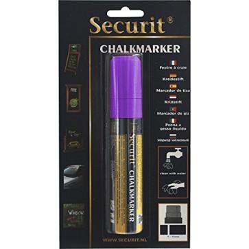 Marker cu creta, violet, SECURIT SMA720
