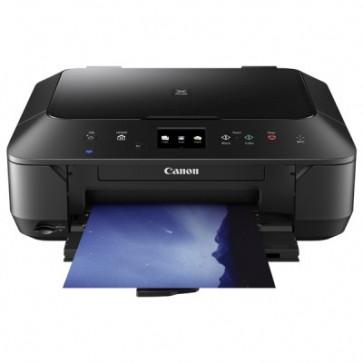 Multifunctional inkjet color CANON PIXMA MG6650, A4, USB, Wi-Fi, negru