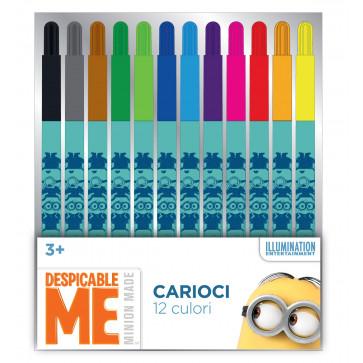 Carioci, 12 culori/set, PIGNA Minions